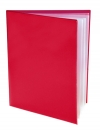 Pocket Folder with Clear Outside Pockets  and 4 Pages RED