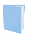 Pocket Folder with Clear Outside Pockets and 6 Pages Lt. BLUE