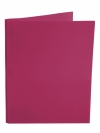 Two Pocket Folder with 3 -prong fasteners BURGUNDY