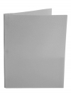 Two Pocket Folder with 3 -prong fasteners GREY