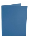 Two Pocket Folder with 3 -prong fasteners BLUE