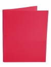 Two Pocket Folder with 3 -prong fasteners RED