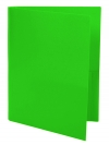 Two Pocket Folder GREEN