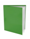 Pocket Folder with Clear Outside Pockets  and 6 Pages GREEN