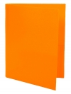 Two Pocket Folder ORANGE