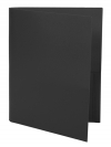 Two Pocket Folder BLACK
