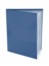 Pocket Folder with Clear Outside Pockets  and 6 Pages BLUE