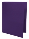Two Pocket Folder PURPLE