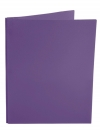 Two Pocket Folder with 3 -prong fasteners PURPLE