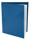 Pocket Folder with Clear Outside Pockets  and 2 Pages BLUE